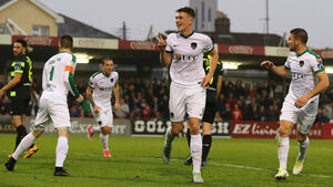 Delaney is loving his loan spell at the heart of the Cork City defence