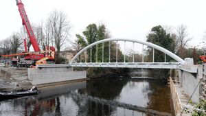 New bridge link to Bons Secours hospital
