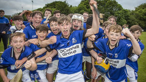 Delight for Sars as they defeat Glen to lift the Féile hurling crown