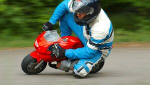 Gardaí warn mini motorbikes not for tots
