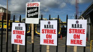 Bus drivers prepare to take to the picket lines