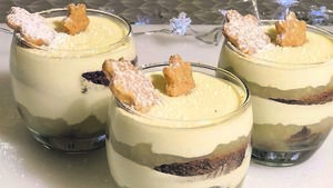 Recipe: Gingerbread and Apple Trifle with Mascarpone