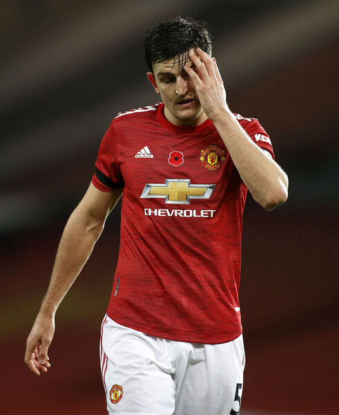 Manchester United's Harry Maguire. Picture: Phil Noble/PA Wire
