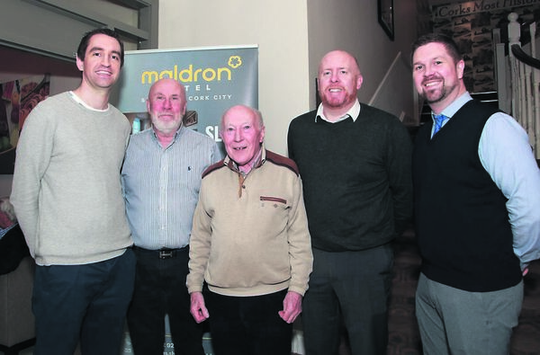 Irish U18 coach Paul Kelleher, with Keith Daly, Jim Leahy, Jim Donoghue, and Kieran Leahy. Kelleher admits that the cancellation of the European Championships was regretful. Picture Gerard Bonus.