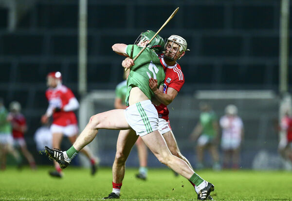 Limerick's Mark Quinlan in action against Cork's Tommy O'Connell. Picture: INPHO/Ken Sutton