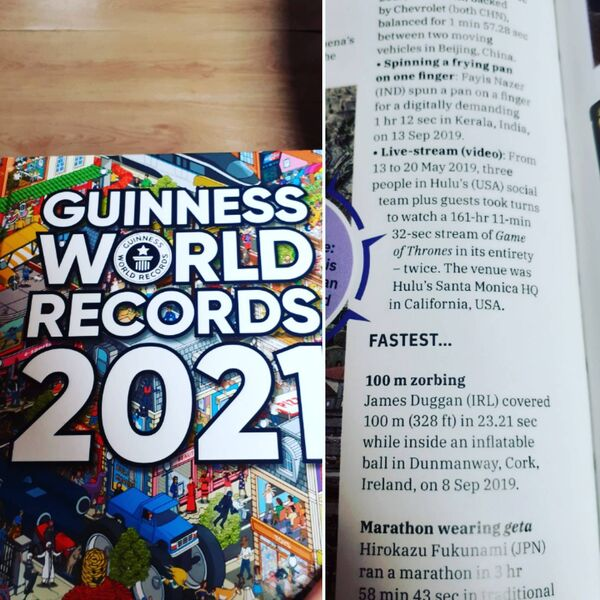 The Guinness Book of Records 2021.