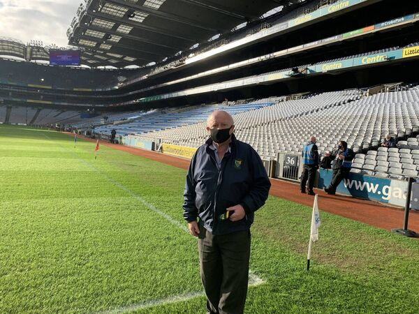 John Arnold was working with Bartlemy based TVM in Croke Park on All Ireland Hurling Sunday. TVM provide the cameras and Outside Broadcsat facilities for major sporting events in Ireland and overseas)