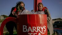 Protest at Barry's Tea HQ but company says it's making progress on single use plastics in its teabags