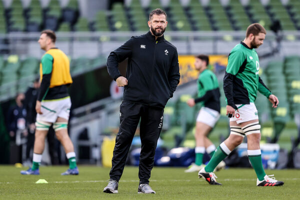 Ireland Head Coach Andy Farrell has it all to prove in 2020. Picture: INPHO/Dan Sheridan