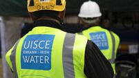 Irish Water repairing a break in a water main on Pope's Quay