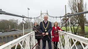 Iconic Cork bridge is formally reopened but has it retained its signature shake?