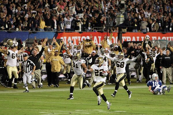 Super Bowl XLIV. Picture: Jed Jacobsohn/Getty Images