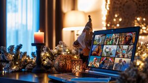 Fun ideas on how to spend Christmas on Zoom with family and friends