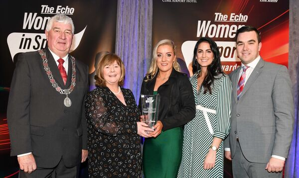 Christina Desmond won the Echo Women in Sport Award earlier this year. Picture: David Keane.