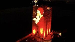 Pics: Christmas magic brought to Cork with spectacular projections on well known castle