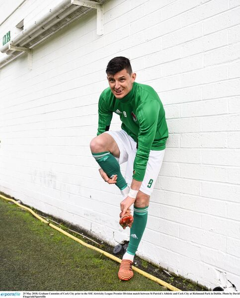 Graham Cummins with Cork City. Picture: David Fitzgerald/Sportsfile