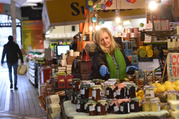 Margo Ann Murphy at the The Roughty Foodie in the English Market, Cork. Picture Dan Linehan
