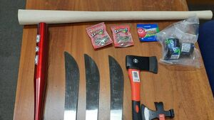 Gardaí charge two men following weapons seizure in Cork city
