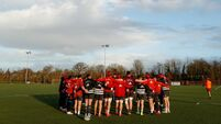 Munster huddle 29/12/2020