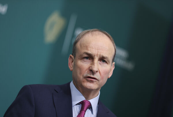 "Taoiseach Micheál Martin said that people will be facing the ""strictest controls in the depth of winter""."