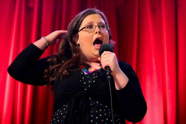 Alison Spittle takes part in the First Fortnight festival.