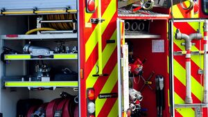 Fire crews responding to two separate incidents in Cork