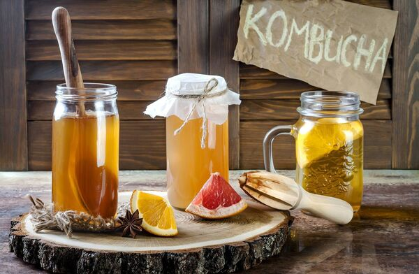 Watch your gut... kombucha and Apple Cider Vinegar are good for your gut. Picture: Stock
