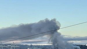 Latest: Major blaze at Port of Cork; emergency services at scene