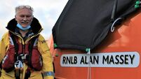 Cork lifeboat crewman steps down after almost half a century volunteering