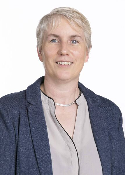 Senior lecturer in biochemistry at UCC, Dr Anne Moore. Photo by Tomas Tyner, UCC.