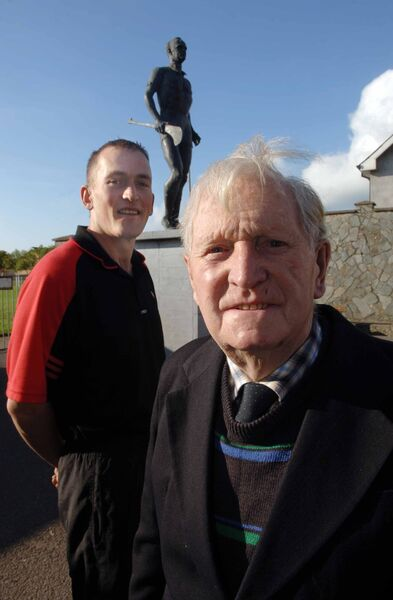 Conor Cusack and Willie John Ring of Cloyne. Picture: Daragh Mac Sweeney/Provision