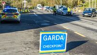 Gardaí have issued 29 fines so far this week to people for breaching travel restrictions