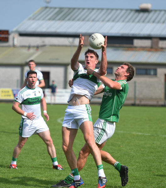 Aidan Walsh in action for Kanturk. Picture: Larry Cummins.