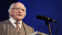 FILE PHOTO President Michael D Higgins has said the State that must bear primary responsibility for its failure to provide suppo