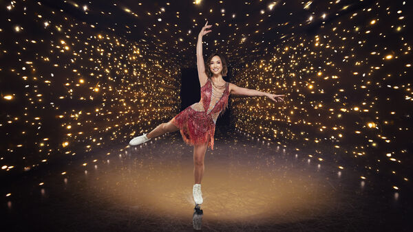 Dancing On Ice contestant Myleene Klass.