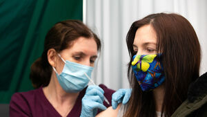 Relief among Irish GPs and healthcare workers after vaccine jabs at mass centres
