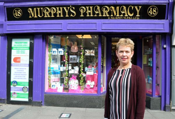"Rose Murphy of Murphy's pharmacy on North Main Street in the city centre said that they now sell Viagra over the counter as ""it has been licensed for availability in pharmacies"". Picture Denis Minihane."