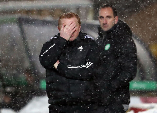 Celtic manager Neil Lennon. Picture: Andrew Milligan/PA Wire.
