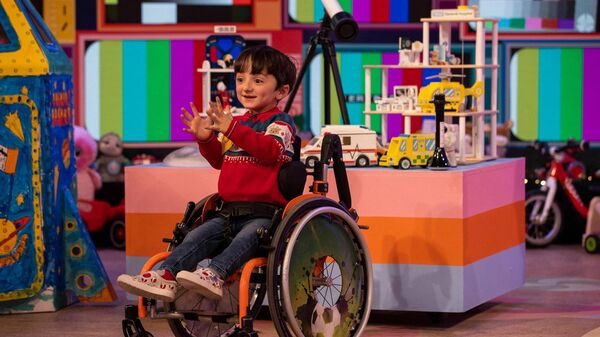 Adam King stole the hearts of the nation on The Late Late Toy Show when he presented his hand-made 'virtual hug'.