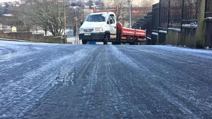 Hazardous road conditions this morning in Cork as emergency services deal with a number of collisions