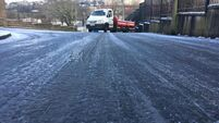 Latest: 'Extreme care' needed in icy conditions; Gardaí deal with incident in city