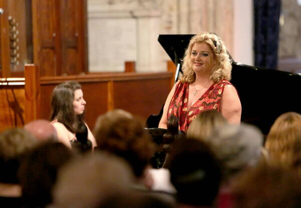 Cara at a concert at St Mary's Collegiate Church, Youghal, in aid of The Baby Cillian Murray - Beckwith Wiedemann Syndrome Fund. Picture: John Hennessy.