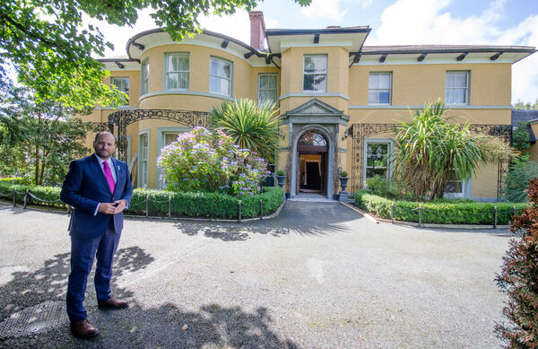 Michael Magner, owner Vienna Woods Hotel in Glanmire.Picture: Howard Crowdy