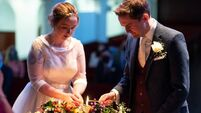 Wedding of the Week: Movies and music marked our special day