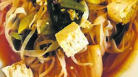 Recipe: Spice up your life — with gluten-free tofu and noodles