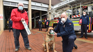 Special animal oxygen masks donated to Cork City Fire Brigade
