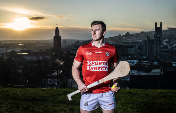 Patrick Horgan at the announcement of Sports Direct's new five-year sponsorship deal with Cork GAA. Picture: INPHO/Dan Sheridan