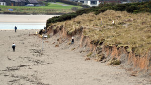 Concern as sand dunes disappear due to erosion hitting Cork beaches