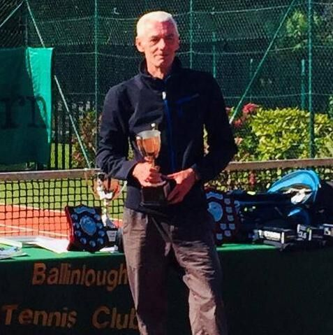 Michael McCarthy, Ballinlough Tennis Club.