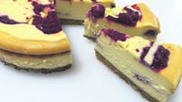 Recipe: Baked Vanilla Cheesecake with Raspberry and White Chocolate